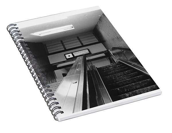 Station Stop  Spiral Notebook