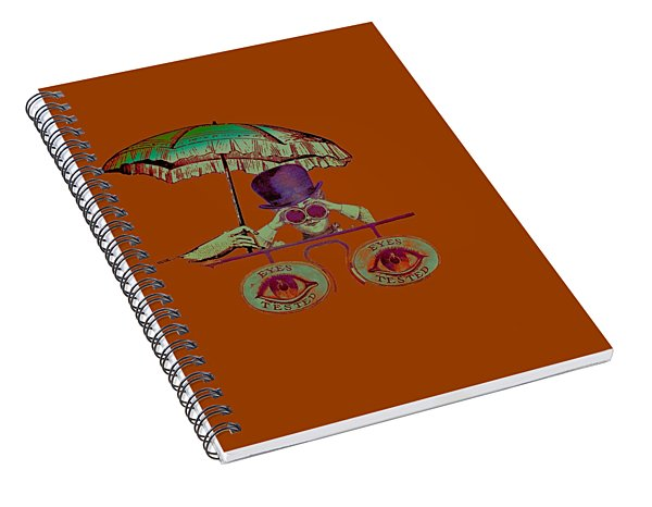 Steampunk T Shirt Design Spiral Notebook
