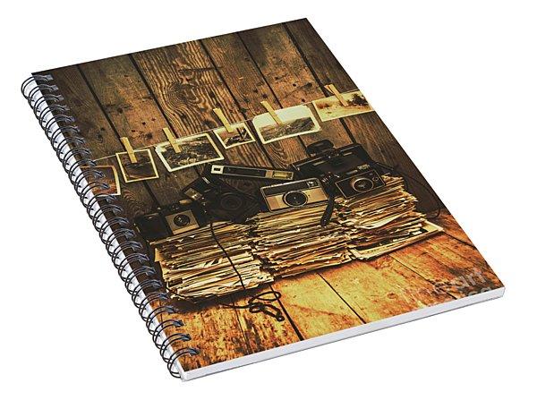 Still Life Nostalgia Spiral Notebook