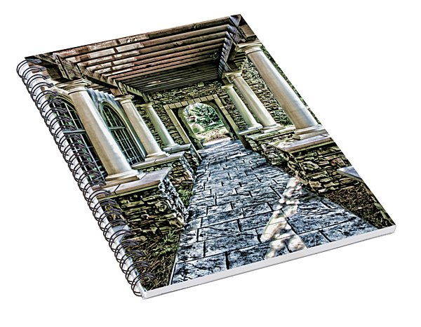 Stone Walkway Spiral Notebook