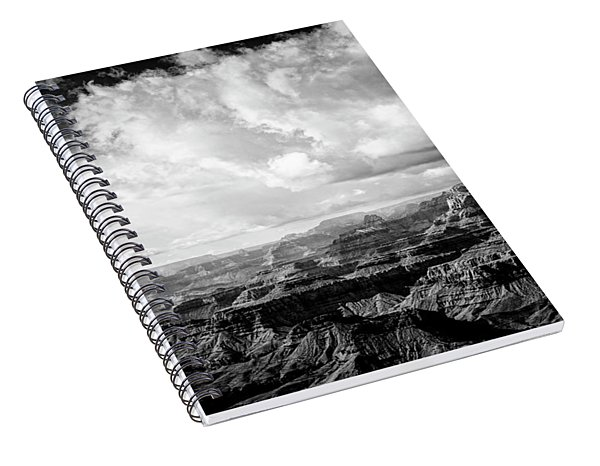 Storm Clouds Spiral Notebook