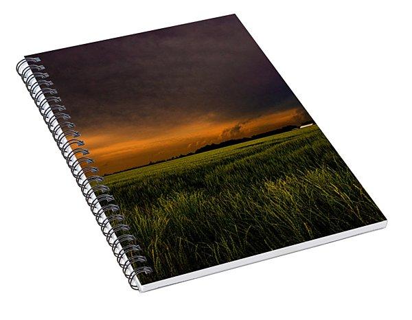 Storm Front  Spiral Notebook
