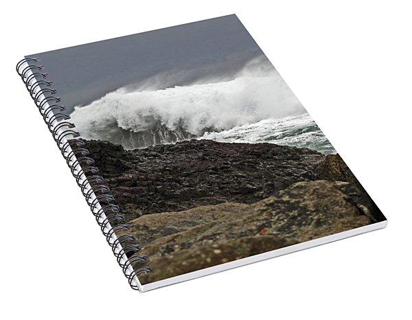 Stormy Ballintoy Spiral Notebook