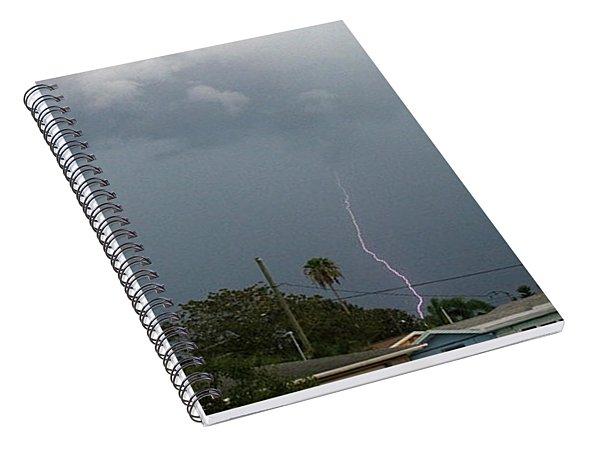 Stormy Night Spiral Notebook