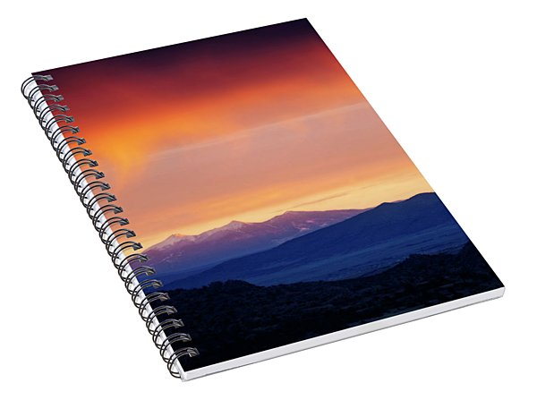 Stormy Sunset Spiral Notebook
