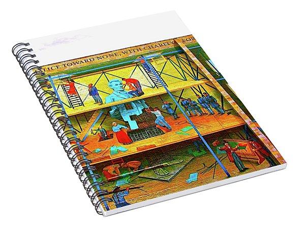 Street Art Los Angeles Spiral Notebook