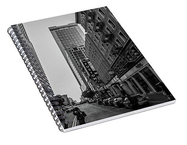 Street Scene, Nyc Spiral Notebook