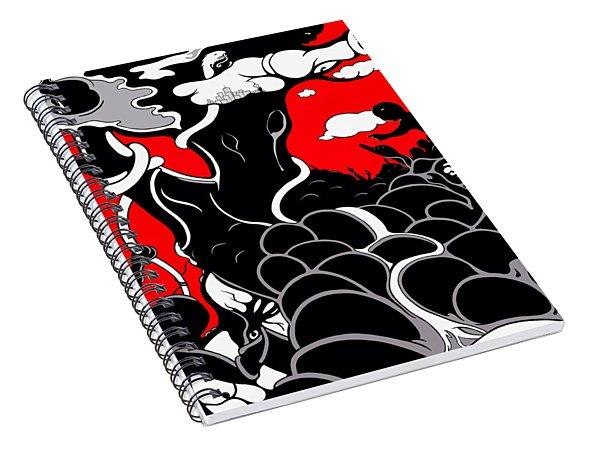 Strife Spiral Notebook