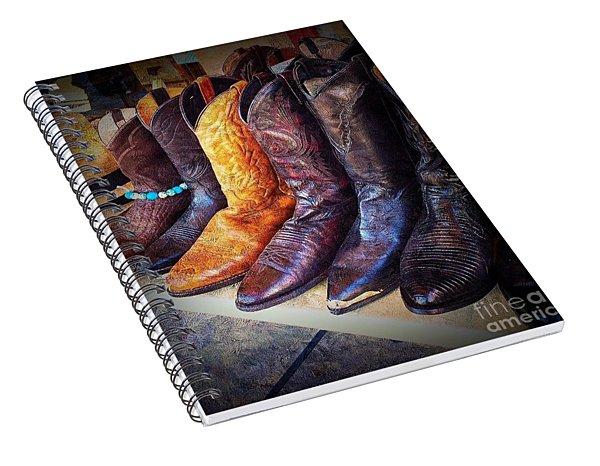 Stylin Boots Spiral Notebook