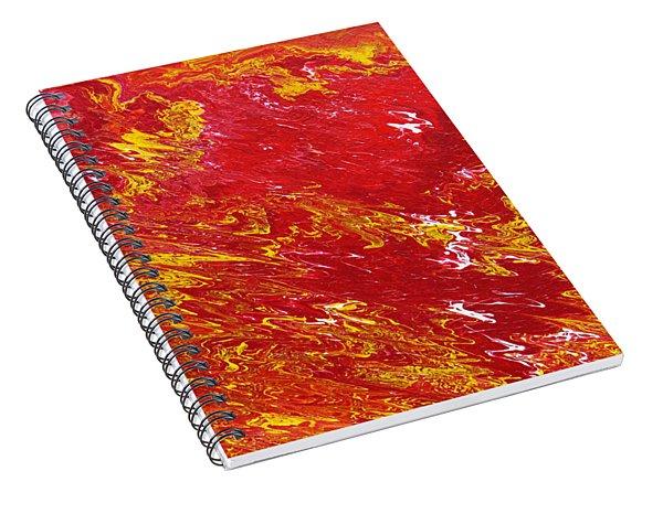 Incandescent Spiral Notebook
