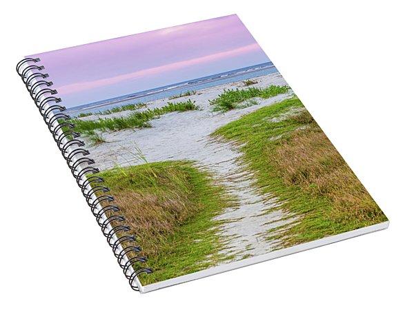 Sullivan's Island Natural Beauty Spiral Notebook