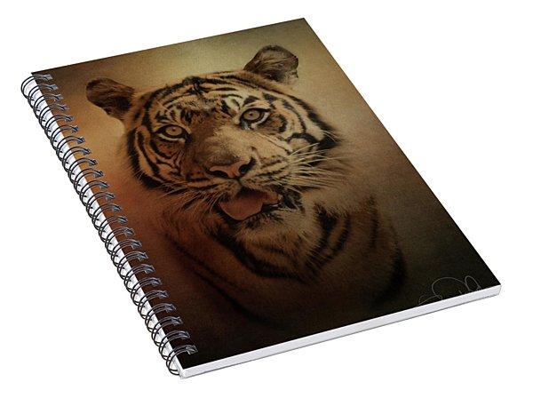 Sumatran Tiger Spiral Notebook