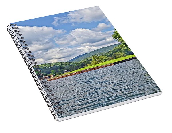 Summer Day At The Lake Spiral Notebook