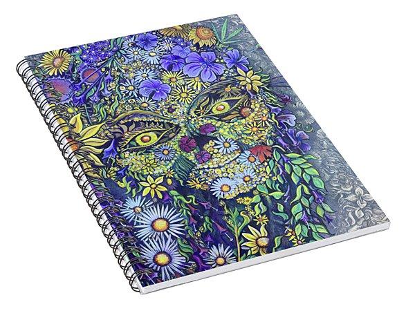 Summer Girl Spiral Notebook