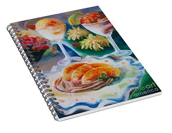 Summer Treats Spiral Notebook