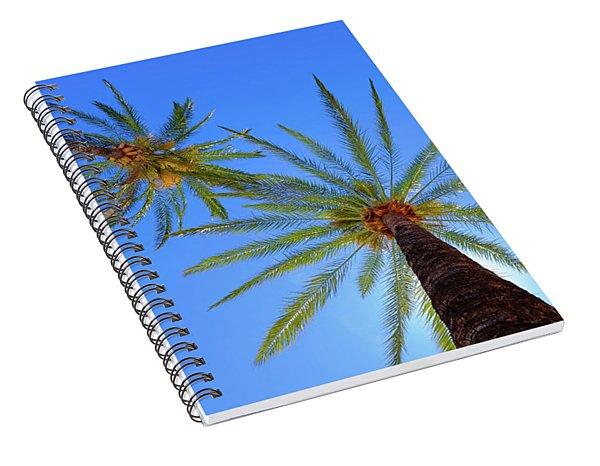 Sun Bed View Spiral Notebook