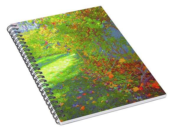 Sun Dappled - Early Autumn Spiral Notebook