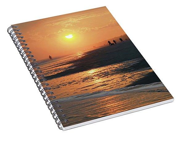 Sun Worshipers Spiral Notebook