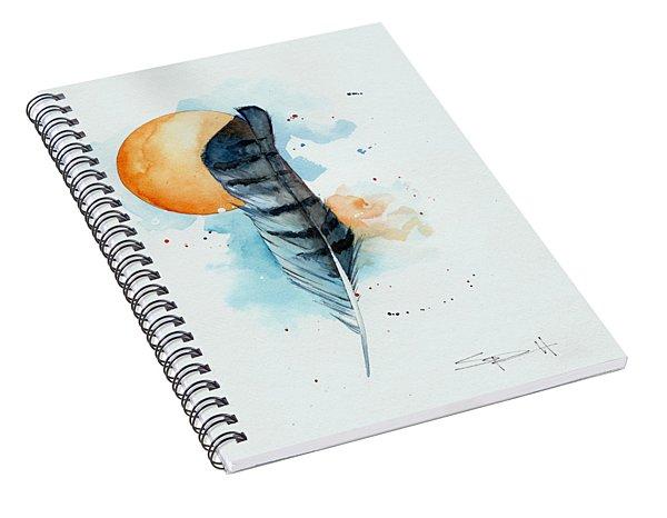 Sunfeather Spiral Notebook