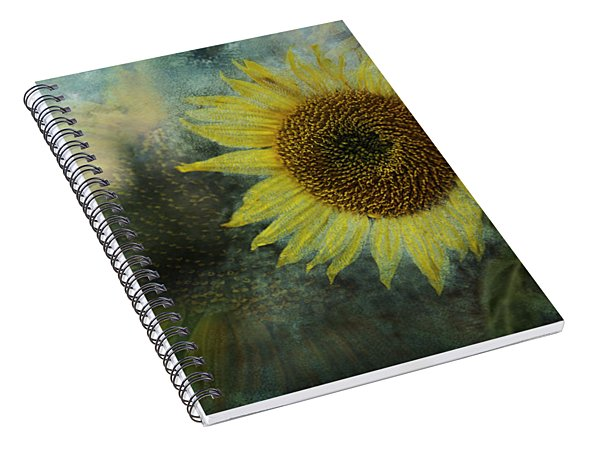 Spiral Notebook featuring the photograph Sunflower Sea by Belinda Greb