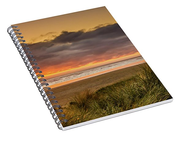 Sunrays Over Manzanita Spiral Notebook