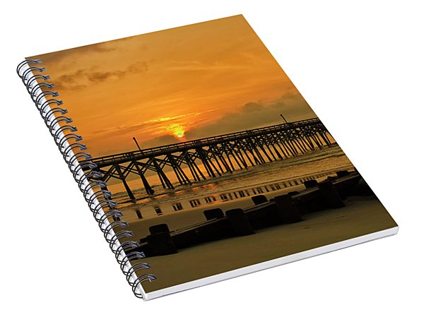 Sunrise At Pawleys Island Spiral Notebook