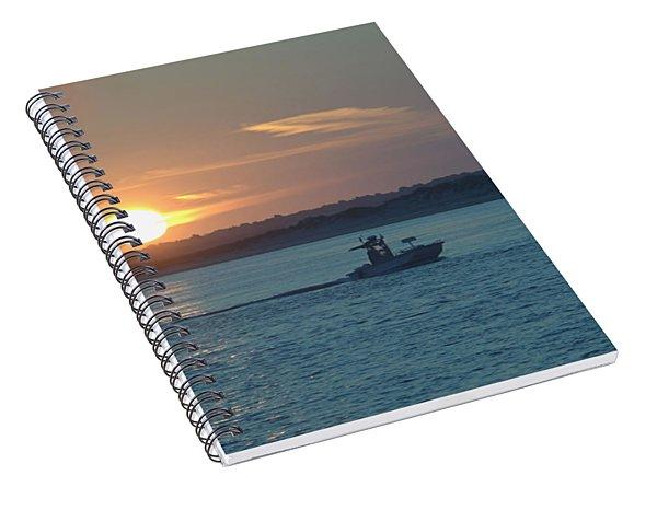 Sunrise Bassing Spiral Notebook