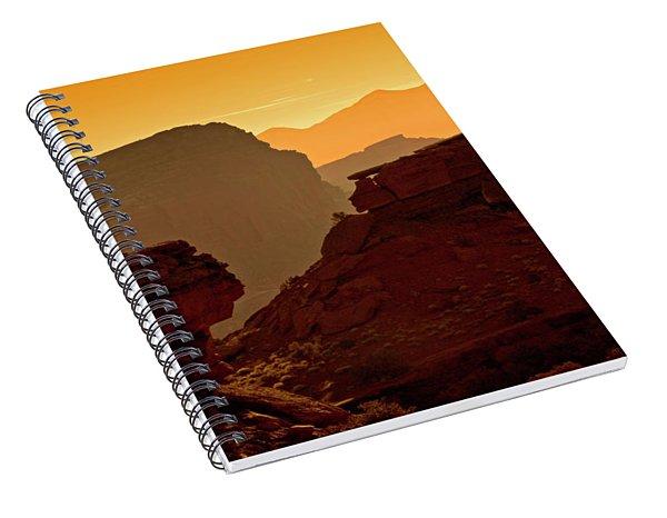 Capital Reef Sunrise Spiral Notebook