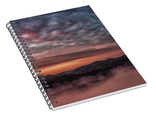 Sunrise Over The Breaks Spiral Notebook