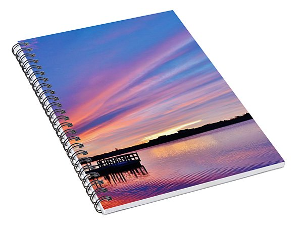 Sunrise Reflecting Spiral Notebook