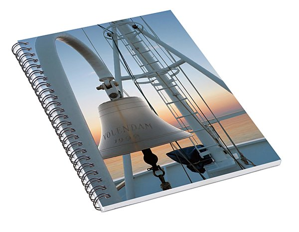 Sunset Bow Spiral Notebook