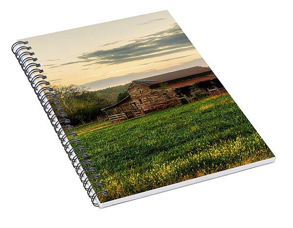 Sunset Over Dogwood Ridge Spiral Notebook