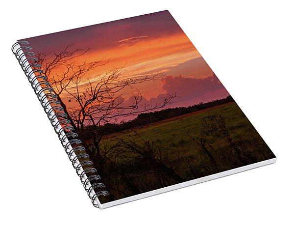 Sunset Pasture Spiral Notebook