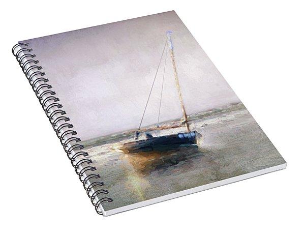 Sunset Tide Spiral Notebook