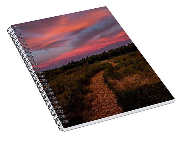 Sunset Trail Walk Spiral Notebook