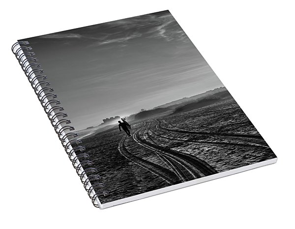 Surfer Spiral Notebook