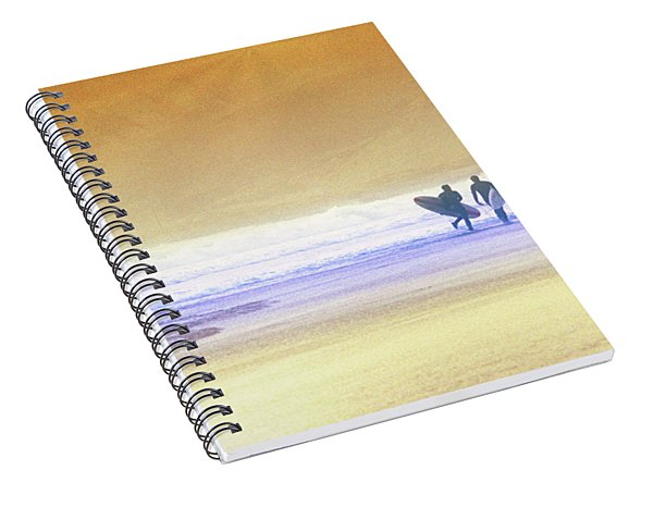 Surfers Spiral Notebook