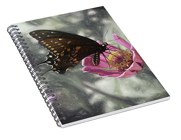 Swallowtail In A Fairytale Spiral Notebook