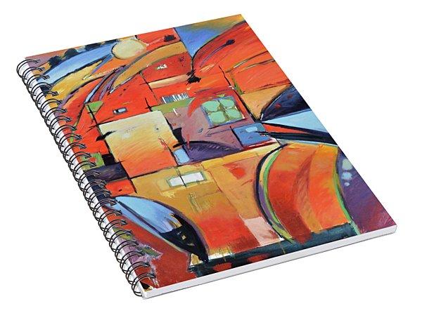 Swaying 2 Spiral Notebook
