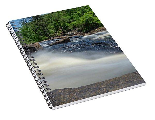 Sweetwater Creek Long Exposure Spiral Notebook
