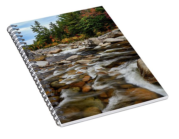 Swift River Autumn Nh Spiral Notebook
