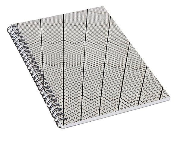 Sydney Opera House Tiles Spiral Notebook