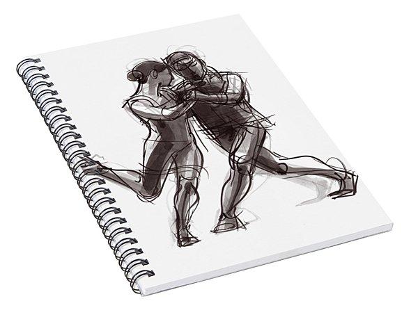 Tango #57 Spiral Notebook