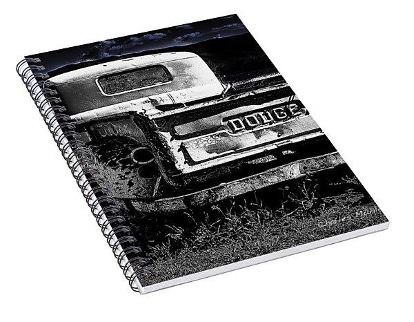 Taos Dodge B-w Spiral Notebook