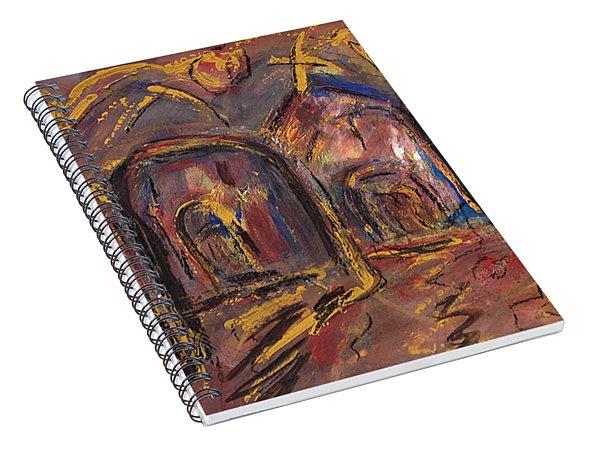 Taos's Spirit Spiral Notebook