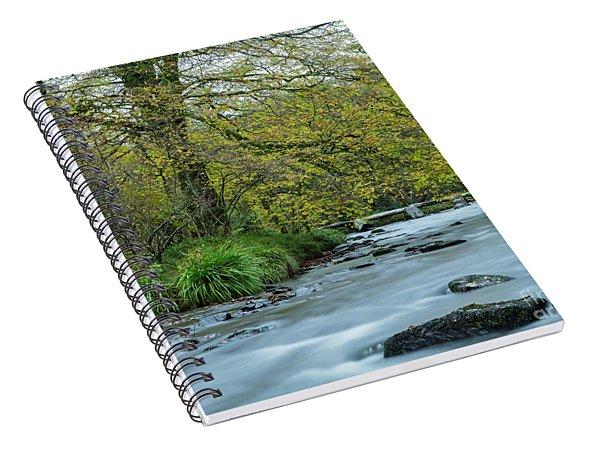 Tarr Steps Clapper Bridge Spiral Notebook