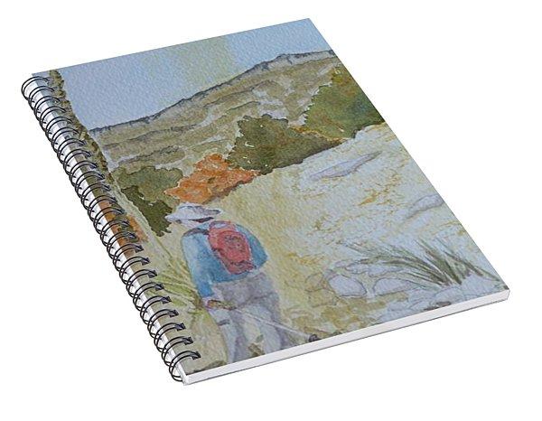 Tejas Trail Doodle Spiral Notebook