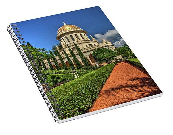Temple 7 Spiral Notebook