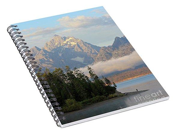 Teton Early Morning Spiral Notebook