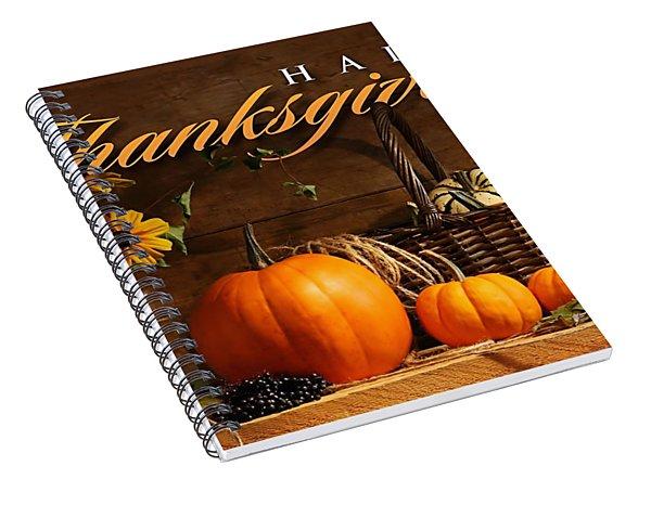 Thanksgiving I Spiral Notebook